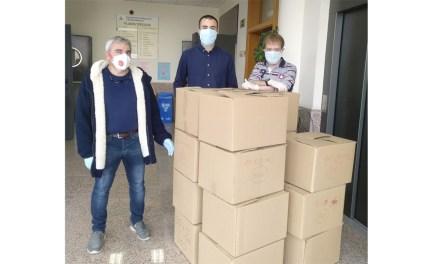 El moratallero Álvaro Pérez Valero participa en la esterilización de mascarillas dentro de un proyecto pionero en el Principado de Asturias