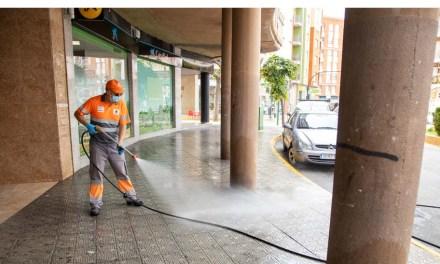 El Ayuntamiento de Caravaca adapta el Plan de Desinfección a la primera fase de desescalada, incidiendo en zonas comerciales y servicios públicos que entran en funcionamiento