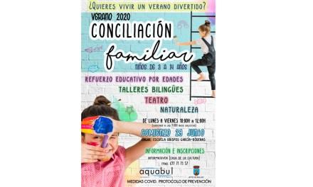 Talleres bilingües, de ocio y de refuerzo educativo en Bullas para la conciliación de las familias