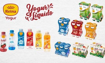 Postres Reina lanza su nueva línea de yogures líquidos