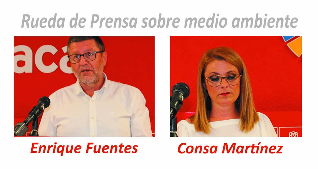 El PSOE de Caravaca acusa al Alcalde de silencio cómplice con los «decretazos» medioambientales del Gobierno regional