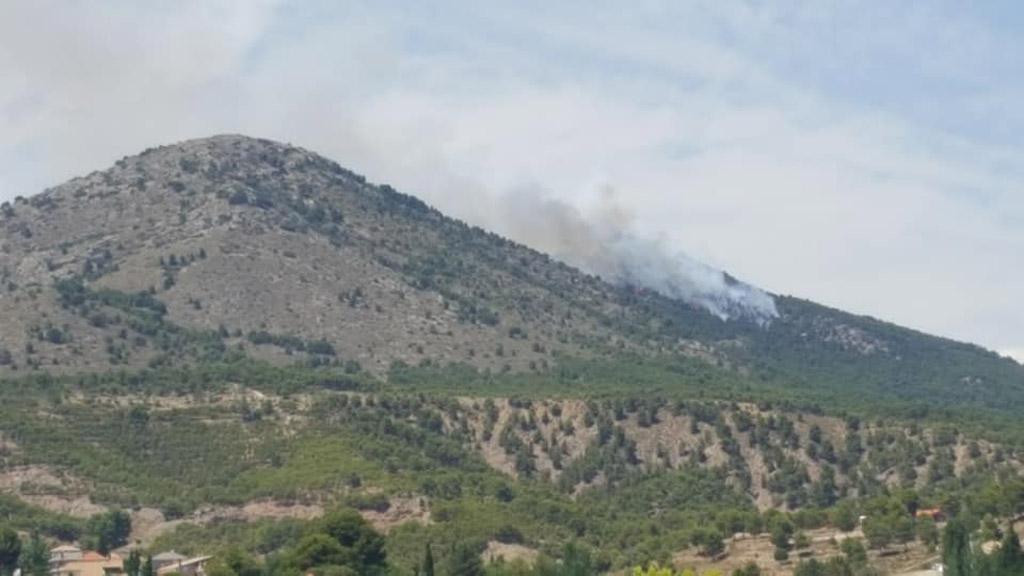 150 efectivos movilizados en el incendio del Cerro Gordo