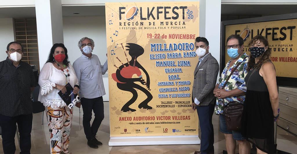 Los Animeros de San Blas de Bullas participarán en el 'Folk Fest', el primer festival de música folk y popular de la región