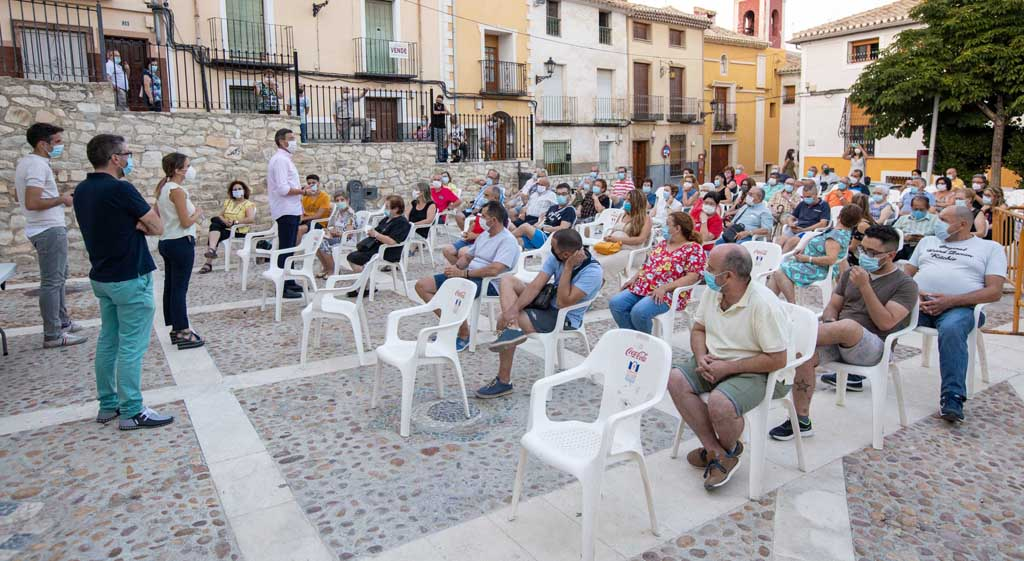 El Ayuntamiento de Caravaca agradece la presencia y aportaciones de vecinos de los barrios de El Hoyo y Santa María en el proyecto 'La piel de cada barrio'
