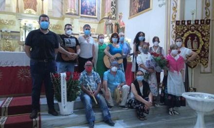 El Ayuntamiento de Calasparra y Asociación Cultural Folclórica Rondalla Calasparra realizan su ofrenda floral a nuestros patronos San Abdón y San Senén