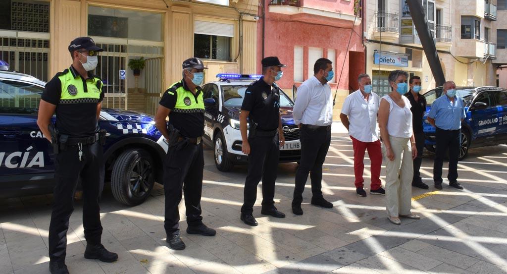 El Ayuntamiento de Calasparra renueva los vehículos de la Policía Local