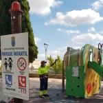 El Ayuntamiento de Bullas realiza labores de desinfección de parques y jardines