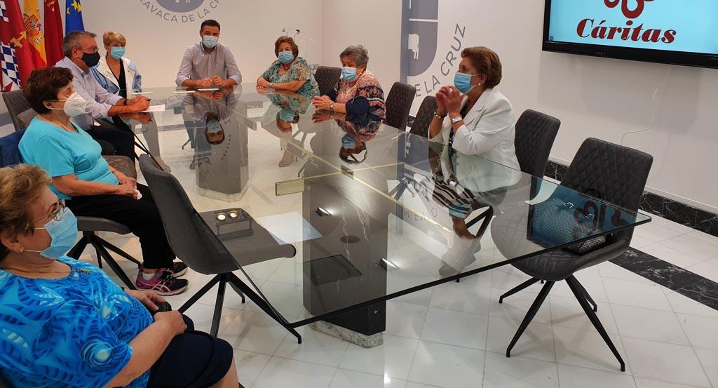El Ayuntamiento de Caravaca refuerza su colaboración con Cáritas