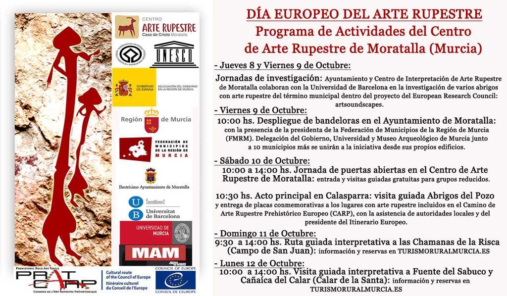 Moratalla celebra con numerosas actividades el Día Europeo del Arte Rupestre