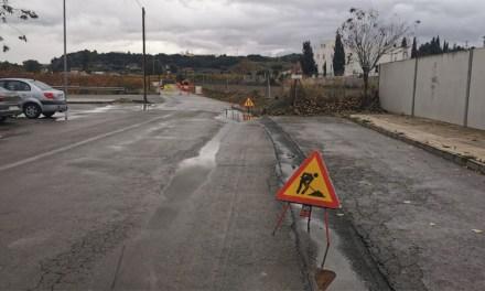 Se realiza la segunda fase de las infraestructuras de agua potable que dan servicio a la zona del camino de la Torrecica