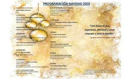 Actividades infantiles, música y concursos para festejar la Navidad en Campos del Río