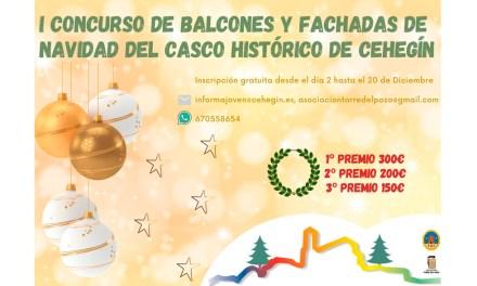 En marcha el primer concurso de decoración navideña de balcones y fachadas del Casco Histórico de Cehegín