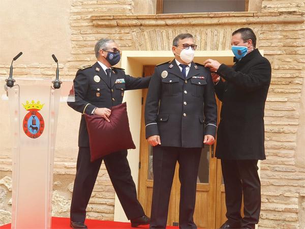 Santiago Andreu junto a Juan Jesús Moreno y Fidel Bedia