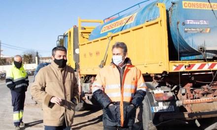El dispositivo en carreteras para garantizar la seguridad vial en episodios de heladas y nieve está en marcha desde noviembre a marzo