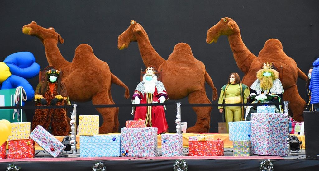 Los Reyes Magos visitan Calasparra
