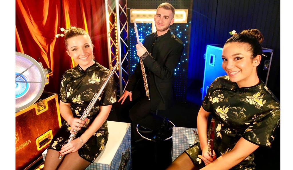 El Trío de Flautas «Euterpe» ya se encuentra en la final de Tierra de Talento