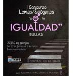 Bullas organiza el I Concurso de lemas y eslóganes por la Igualdad
