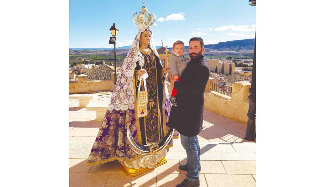 Juan del Amor: «Estamos en la labor de querer consolidar la titularidad de la Ermita del Carmen por reconocimiento formal y definitivo»