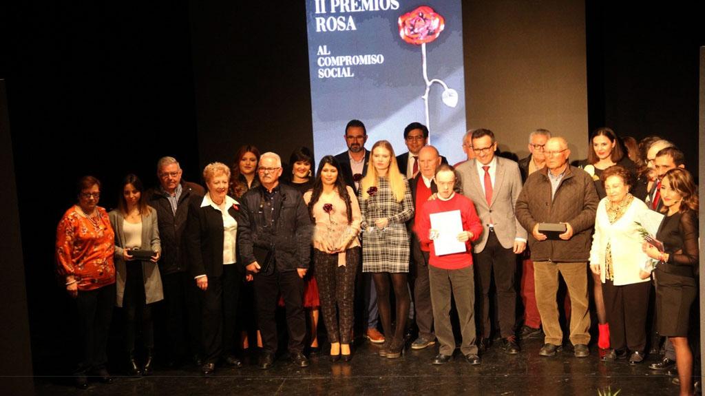 El PSOE de Caravaca de la Cruz hace un paréntesis en los Premios Rosa