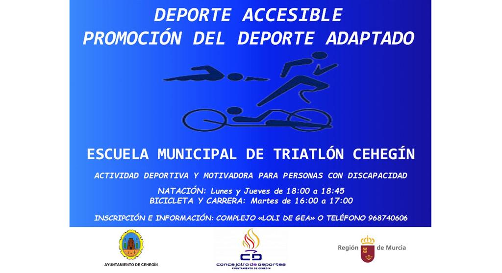Cehegín pone en marcha la actividad deportiva accesible