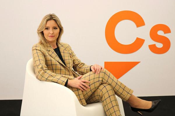 La coordinadora de Ciudadanos Ana Martínez Vidal