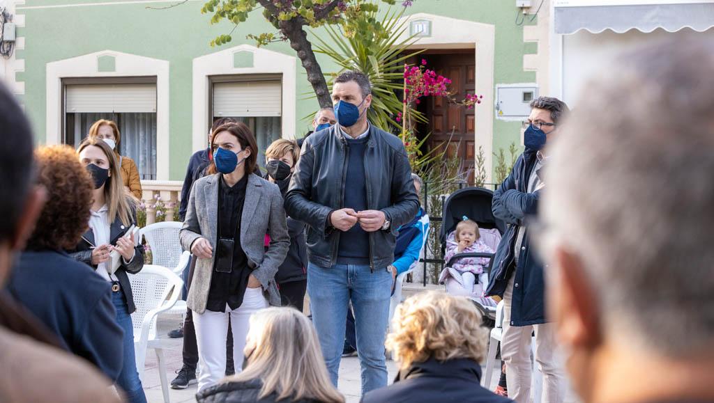 El Ayuntamiento de Caravaca continúa con las reuniones de 'La piel de cada barrio, esta vez en el Camino del Huerto