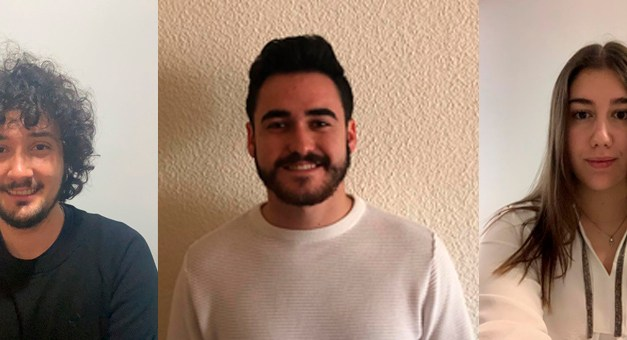 Ángel, Olga y José Francisco; adquiriendo conocimientos para un futuro en el mundo empresarial
