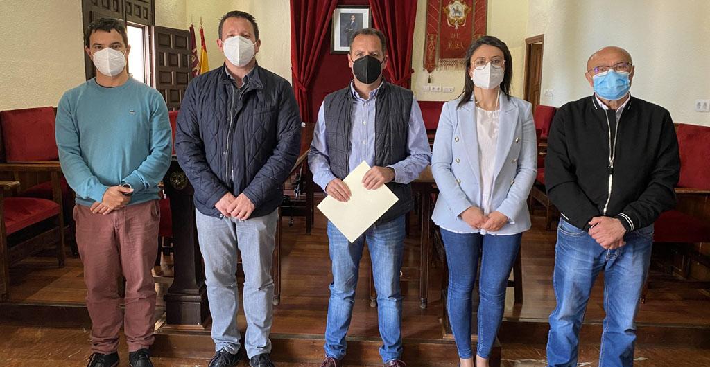 El Ayuntamiento de Mula renueva el convenio de colaboración con la Asociación de Tamboristas