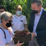 Agricultura dona a Cáritas cerezas de la finca experimental Las Nogueras de Caravaca de la Cruz
