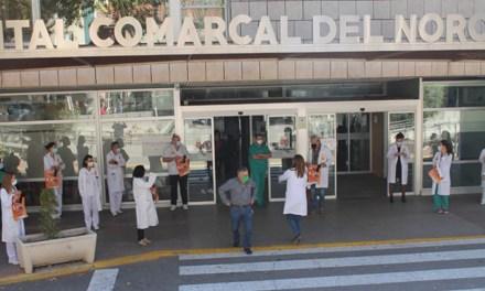 Médicos del Hospital Comarcal convocan el jueves 10 una protesta ante la falta de especialistas y de médicos de atención primaria