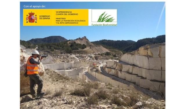 Innovador proyecto del Centro Tecnológico del Mármol, Piedra y Materiales para gestionar la biodiversidad