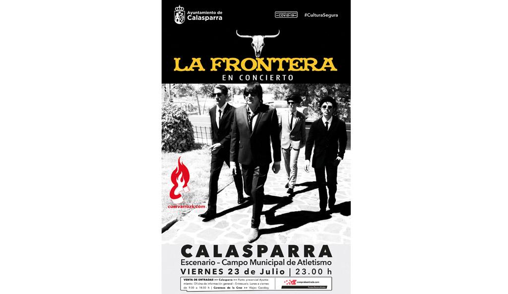 La Frontera, una de las bandas de rock más legendarias del panorama español viene a Calasparra