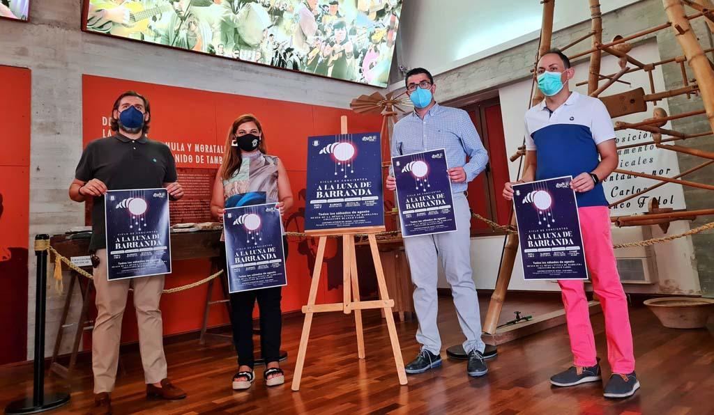 Los conciertos 'A la luna de Barranda' harán al público disfrutar de la cultura segura con diversidad de estilos