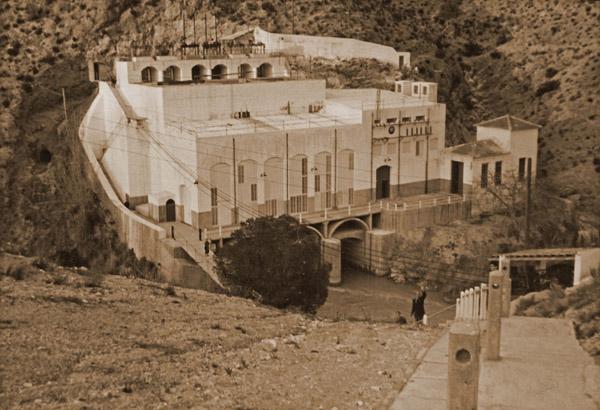 Salto de Cañaverosa. Foto Payá. Archivo Ricardo Montes