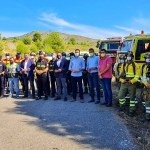 Caravaca suma más de medio centenar de efectivos en la lucha contra los incendios dentro del Plan Infomur que impulsa el Gobierno regional