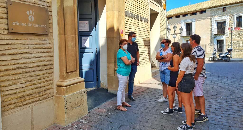 La Oficina de Turismo de Caravaca consigue por primera vez la Q de Calidad Turística