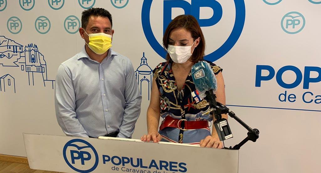 Los populares piden al PSOE que trabaje en una oposición útil y constructiva para Caravaca