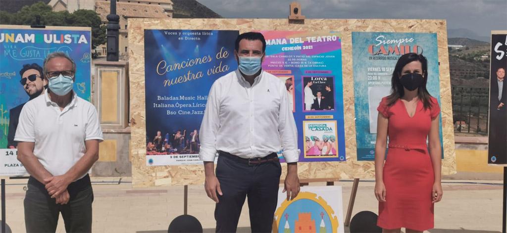 Presentada la programación de las Fiestas Patronales de Cehegín en honor a la Virgen de las Maravillas para este año 2021