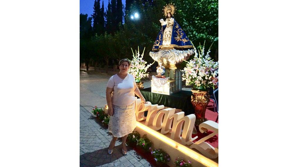 Fulgen Sánchez: «La Virgen de la Esperanza es nuestra madre, a ella acudimos cuando estamos atribulados o dichosos»