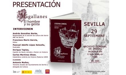 Magallanes vuelve a Sevilla de la mano de Alfaqueque & Gollarín con una edición ilustrada del clásico de Stefan Zweig
