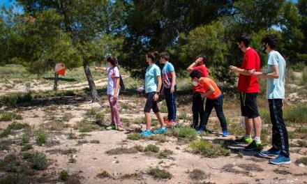 La X Carrera Liga Regional Murciana de Orientación se disputa en Calasparra