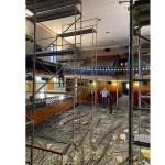 El Ayuntamiento de Moratalla ha iniciado unas obras para mejorar las condiciones del Teatro Trieta