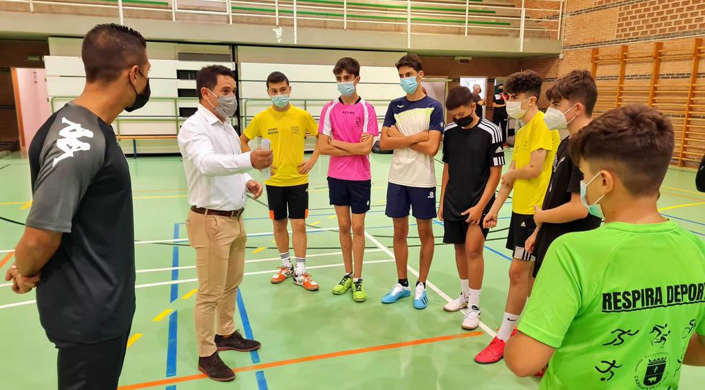 Las Escuelas Deportivas del Ayuntamiento de Caravaca superan las cifras de participación previas a la pandemia con más de 1.500 matriculados