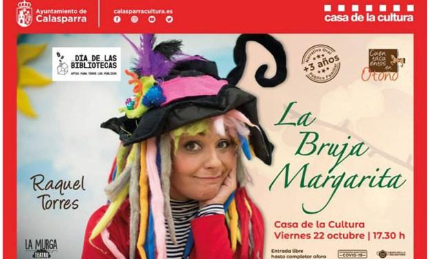 Calasparra celebra el Día de las Bibliotecas con «La Bruja Margarita»