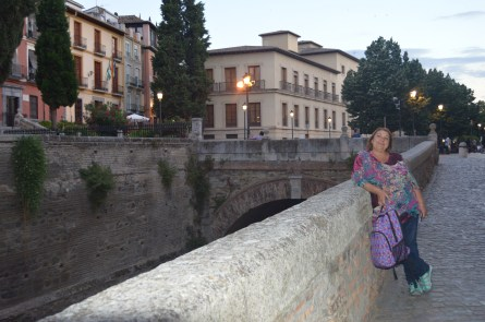 Rio Darro, el paseo de Los Tristes, camino al cementerio