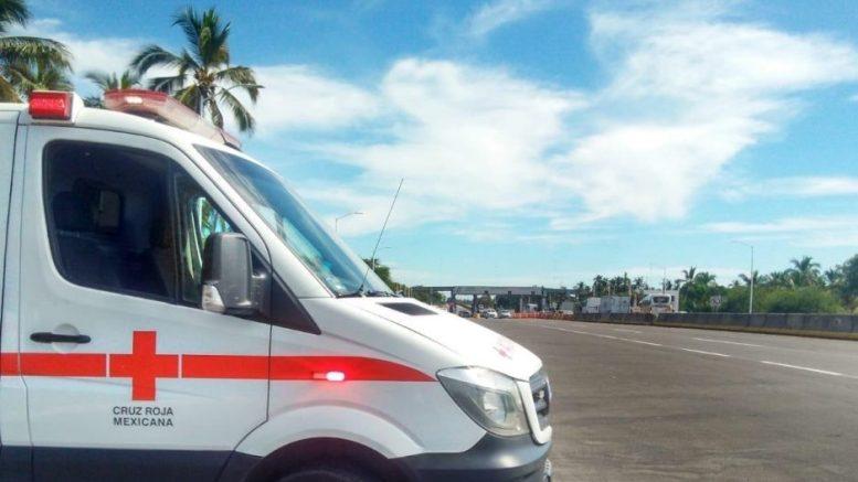 Ambulancia de la Cruz Roja Manzanillo | Foto: Especial