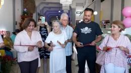 Inauguración de plaza por parte de la alcaldesa Griselda Martínez | Foto: especial