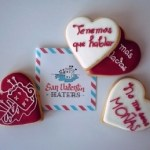 Galletas anti cursiladas para San Valentín
