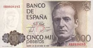 5000 mil pesetas
