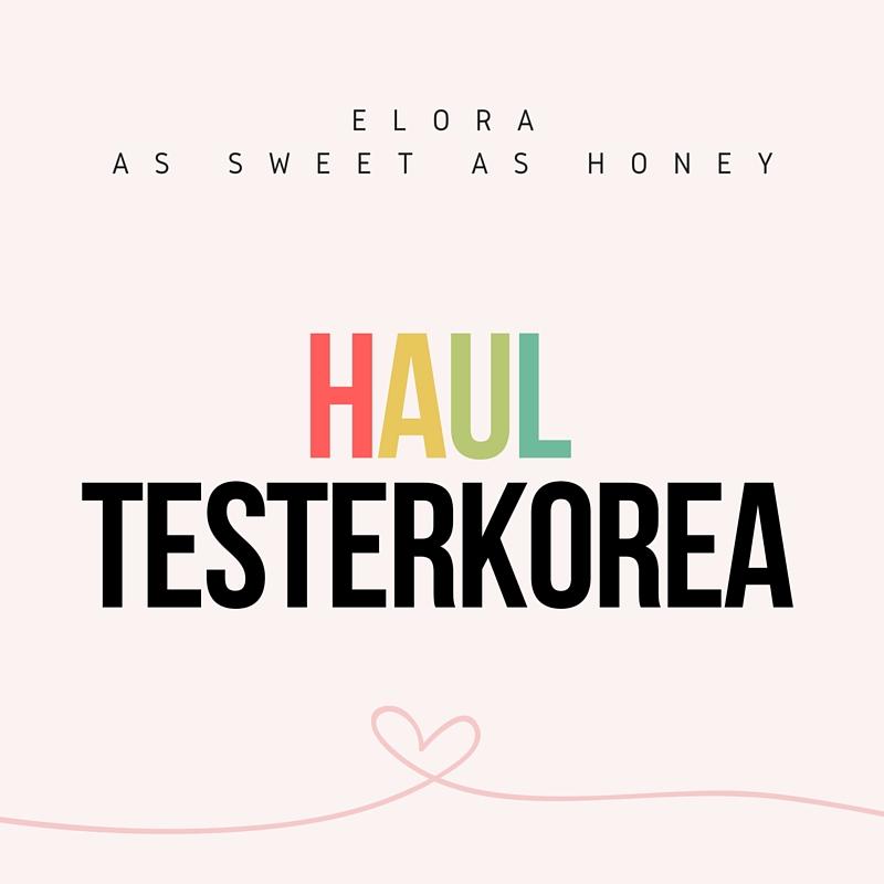 Haul TesterKorea ! +vidéo